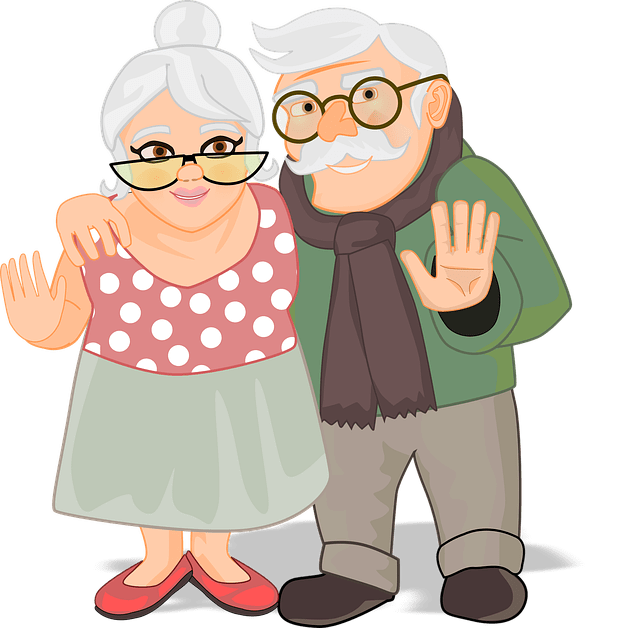 pareja de ancianos, pension adultos mayores